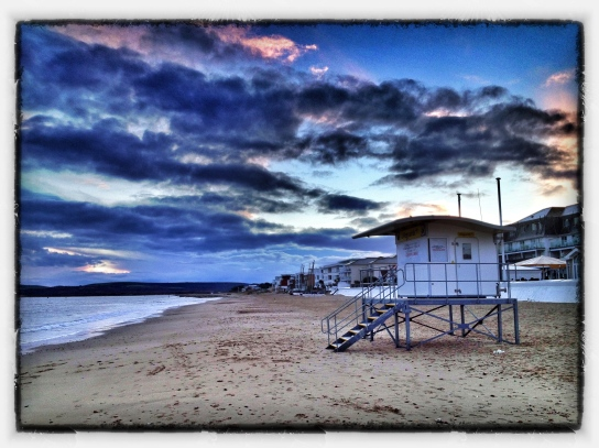 Sandbanks Beach, Poole, Dorset, UK.