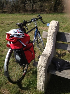 Bike in the sunshine