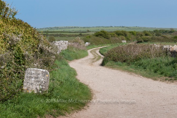 Looking along the Priest's Way