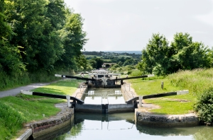 Locks at Caen HIll
