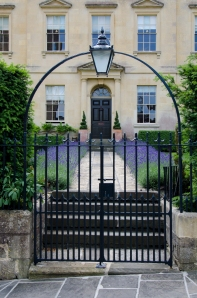 An example of Bradford-on-Avon's beautiful architecture
