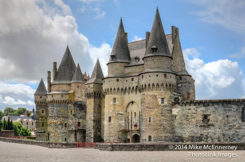 The Chateau de Vitre