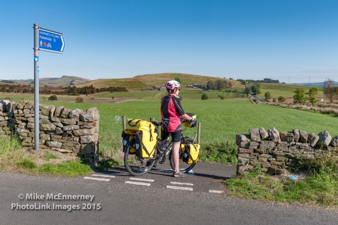 Hadrian's Wall Sustrans cycle route No 72